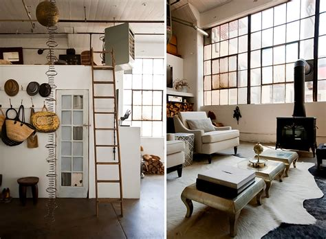 brooklyn loft ideas raw industrial glamour in fort greene mydomaine