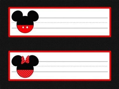 printable minnie mouse name tags mickey mouse name tags www pixshark com images