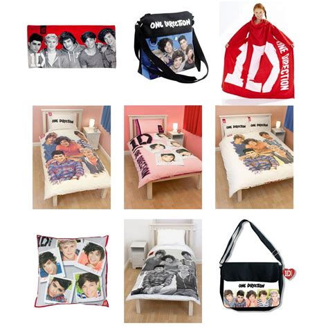 bedding accessories one direction duvet covers bedding bedroom accessories official new 1d ebay