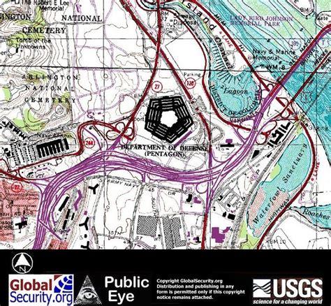 washington dc map pentagon pentagon usgs aerial imagery