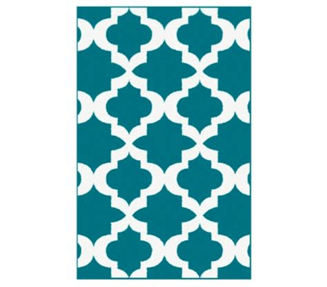 teal and white rug quatrefoil college rug teal and white college supplies