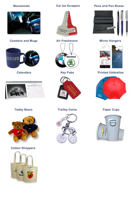 promotional giveaways promotional products auto car dealer gifts - Car Dealership Giveaways
