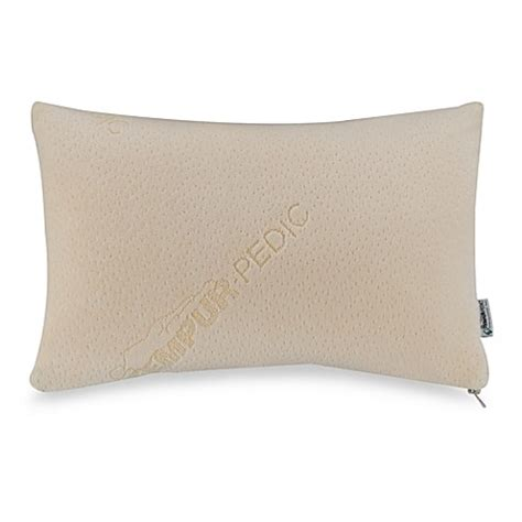 bed bath and beyond tempurpedic pillow buy tempur pedic 174 travel comfort pillow from bed bath beyond