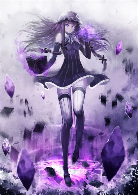 anime magic anime picture 2480x3507 with touhou patchouli knowledge