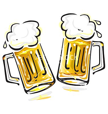 cartoon beer cheers beer mugs cheers clipart 15