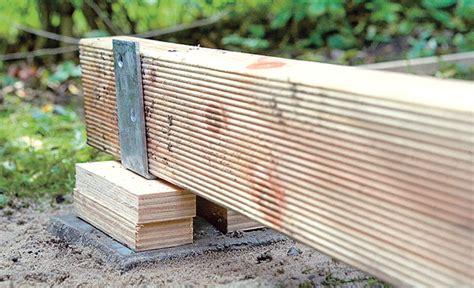x step terrasse holzterrasse bauen holzterrasse bild 17 selbst de