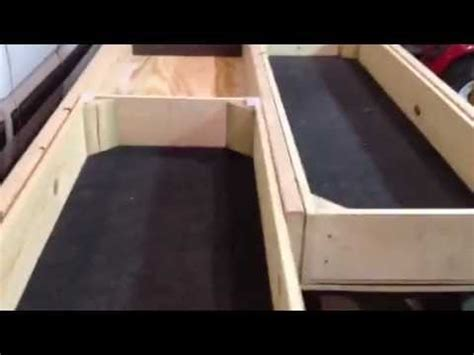 truck bed drawers diy truck bed drawer part 1 how to save money and do it
