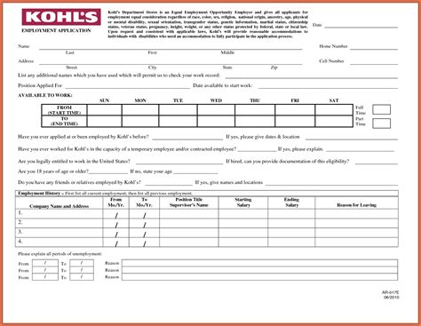printable job application hardees printable job application artresume sle