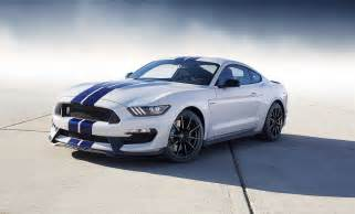 Ford Shelby Mustang Gt350 2015 Shelby Gt350 Officially Revealed 50 Years Of Mustang