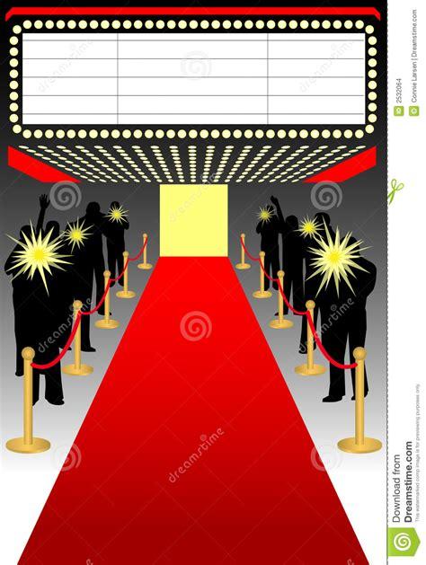 imagenes de alfombras rojas alfombra roja premier ai ilustraci 243 n del vector