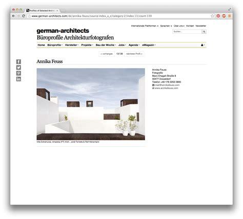 german architects mein profil bei german architects architekturfotograf