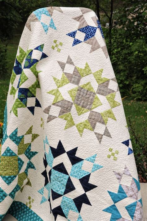 blue and green quilt quilts