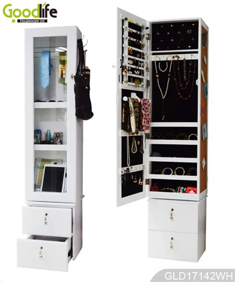 rotating storage cabinet with mirror rotating mirror storage cabinet with drawer and photo wall