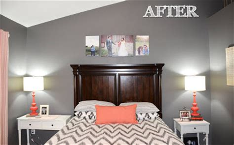 pretty things design coral gray bedroom jessica stout design coral gray master bedroom my home