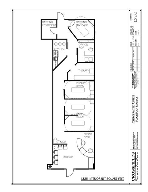 Exle Of Chiropractic Office Floor Plan Multi Doctor | 95 best images about chiropractic floor plans on pinterest