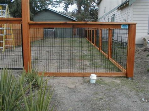 wood wire fence on wire fence fence and fencing best hog wire fence panels safety idea fence ideas