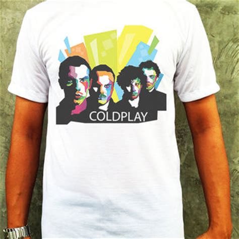 shop coldplay shirt on wanelo