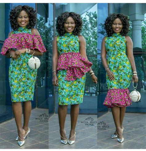 short kitenge dress top 10 fantastic kitenge short dresses fashenista