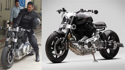 hellcat bike dhoni s sexiest bike confederate hellcat x132 bike gq india