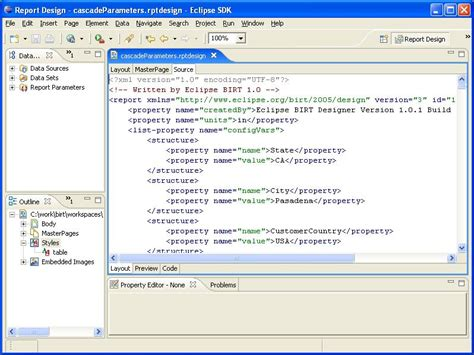 birt layout editor new and notable features within birt 2 0 the eclipse