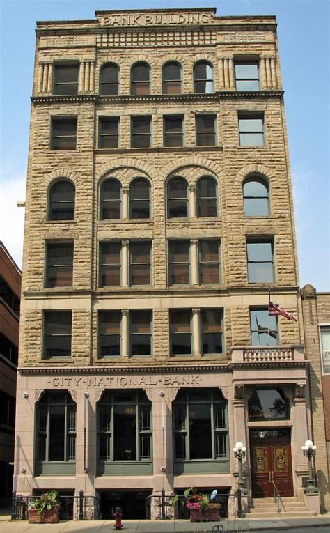 nearest city national bank file city national bank building canton oh jpg