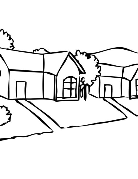 Free Coloring Pages Of Places In The Community Community Coloring Pages
