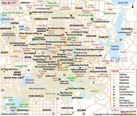 map of dallas texas and surrounding cities dallas city map maps of world