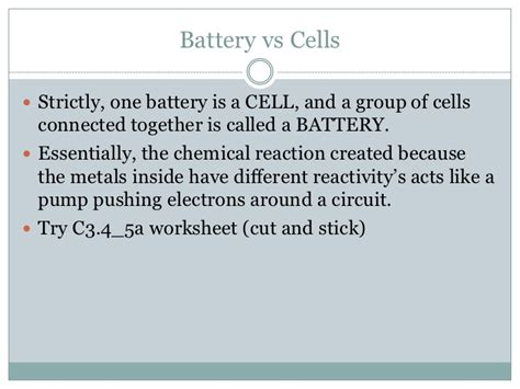 what is the difference between a battery and a resistor in an electrical circuit cells and batteries