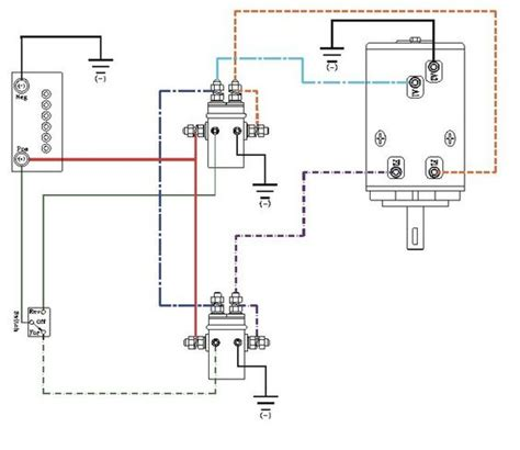 winch solenoid wiring diagram winch wiring diagram http www automanualparts