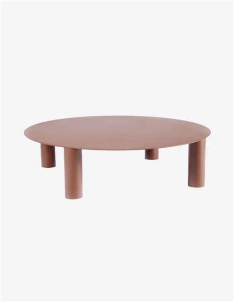 Table Basse Ronde En Acier table basse ronde en acier jeane origine metal