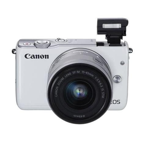 Kamera Canon M10 Mirrorless jual canon eos m10 kamera mirrorless with ef m15 45mm 55