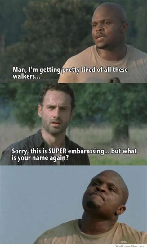 T Dogg Walking Dead Meme - the walking dead memes