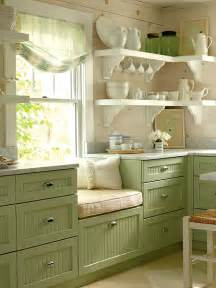 Country Green Kitchen Cabinets by Gillyflower Where Does The Time Go