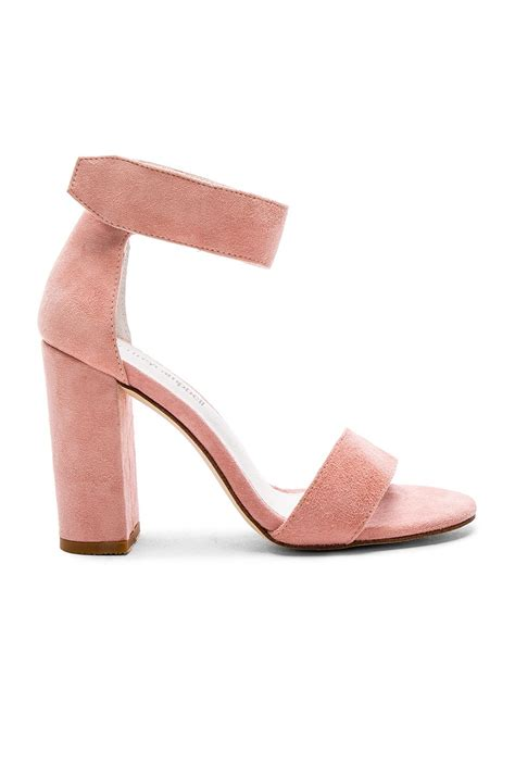 light pink tie up heels jeffrey cbell lindsay heels in light pink suede shoe