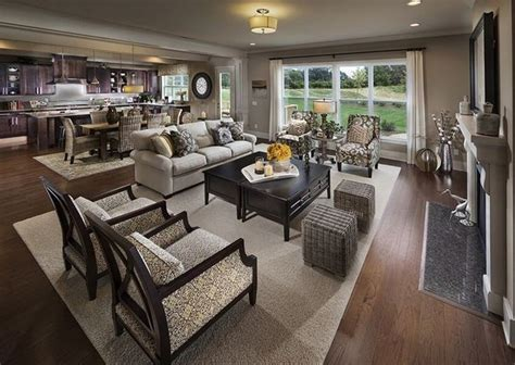 Living Room Furniture For Open Concept 25 Best Ideas About Kitchen Living Rooms On