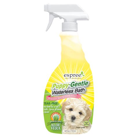 espree puppy shoo espree puppy waterless bath petco