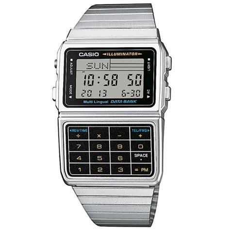 orologio casio calcolatrice casio databank collection dbc 611 1 orologio uomo digitale