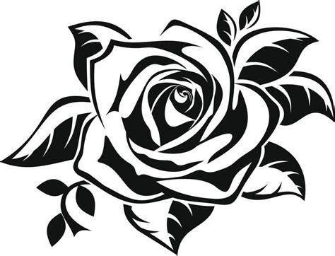 imagenes en negro y rosa m 225 s de 25 ideas incre 237 bles sobre dibujos de rosas en
