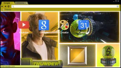 themes chrome exo exo k chrome themes themebeta