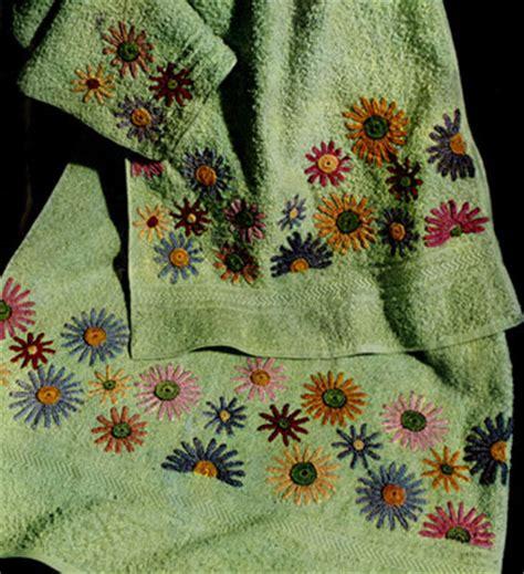daisy bathroom set daisy bath set decorative crochet pattern crochet patterns