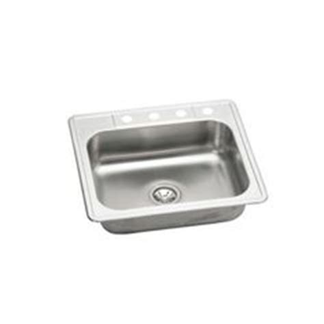 glacier bay all in one top mount stainless steel 33 in 4