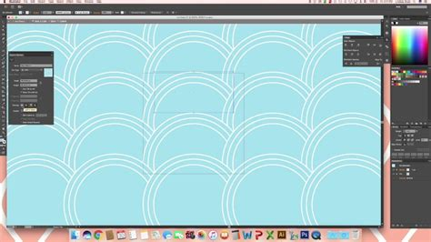 ai pattern scale fish scale pattern in illustrator youtube