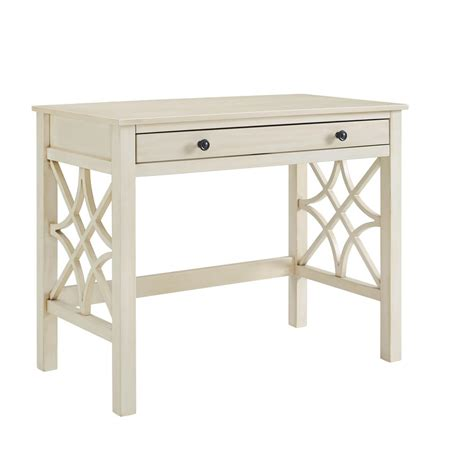 whitley antique white desk
