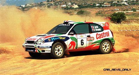 toyota rally car toyota rally racing hall of fame 101 amazing and rare