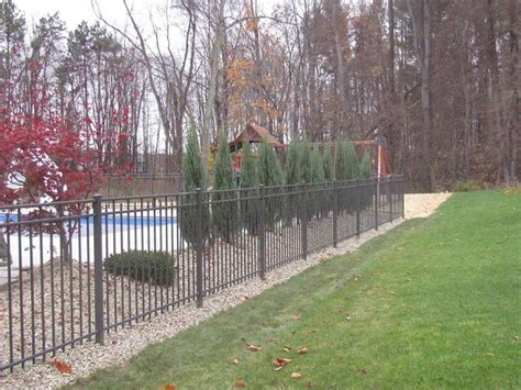 pool fences and gates afs aluminum pool fence styles