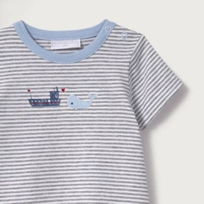 tugboat hat tugboat striped romper hat baby boys the white