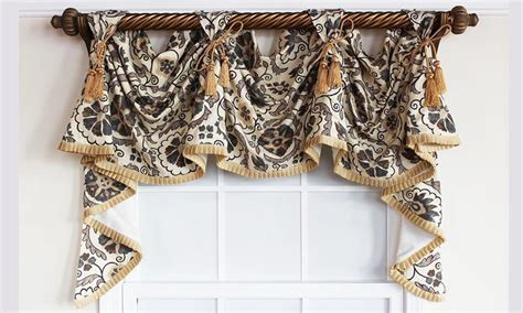 victory valance curtains shower curtains 187 elegant double swag shower curtains
