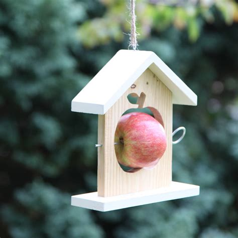 Apple Bird Feeder apple bird feeder by berry apple notonthehighstreet