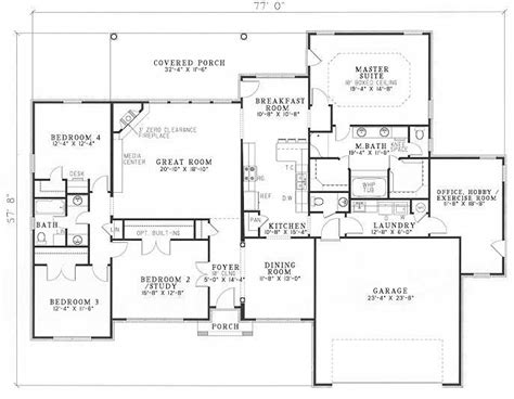 country club floor plans country club drive house plan dream home 2 pinterest
