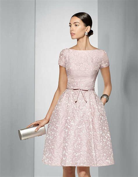 trajes para 15 anos este es un vestido color fiesta 2017 vestido de fiesta corto brocado en tono rosa